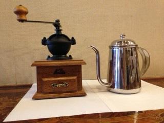 コーヒーマイスターの道:ミル付コース